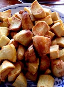 Sült krumpli..